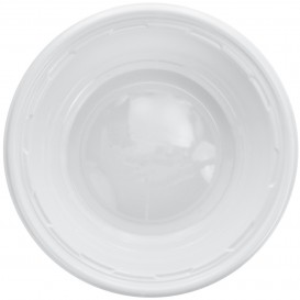 Tigela de Plastico PS Branco 180ml Ø11,5cm (1000 Uds)