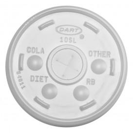 Tampa com Cruz para Copo Foam Ø8,6cm (1000 Uds)