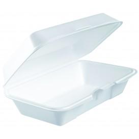 Embalagem Foam LunchBox Branco 225x140mm (125 Uds)