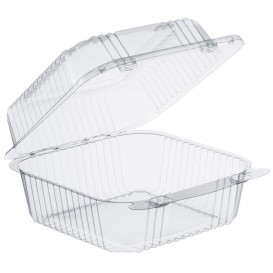 """Embalagem Plastico OPS """"StayLock"""" Bisagra Transp. 790ml (500 Uds)"""