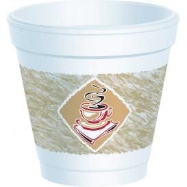 "Copo Termico Foam EPS ""Café"" 4Oz/118 ml (1000 Unidades)"