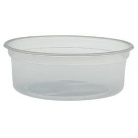 """Embalagem Plastico PP """"Deli"""" 8Oz/266ml Transp. Ø120mm (500 Uds)"""