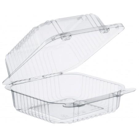 """Embalagem Plastico OPS """"StayLock"""" Bisagra Transp. 465ml (500 Uds)"""