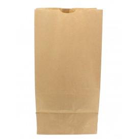 Saco de Papel Sem Asas Kraft 22+12x30cm (25 Uds)