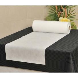 Toalha em Rolo Não Tecido Branco 0,4x48m 50g (1 Ud)