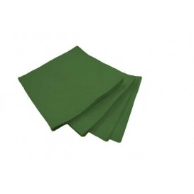 Guardanapos Papel Microdot Verde 20x20cm (100 Uds)