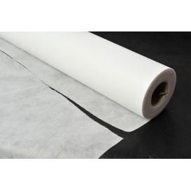 Toalha em Rolo Não Tecido Branco 1,2x50m 50g (6 Uds)