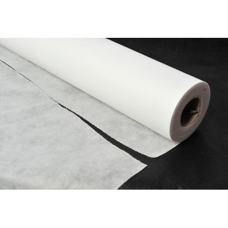 Toalha em Rolo Não Tecido Branco 1,2x48m 50g (6 Uds)