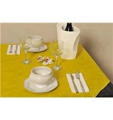 Toalha Não Tecido Amarelo 120x120cm (150 Uds)