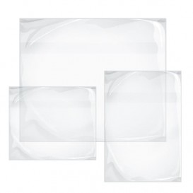Envelopes Auto-Adesivos Transparente 235x175mm (250 Uds)