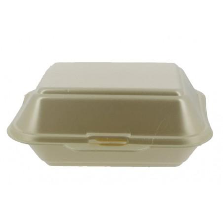 Embalagem Foam LunchBox Champahne 185x155x70mm (125 Uds)