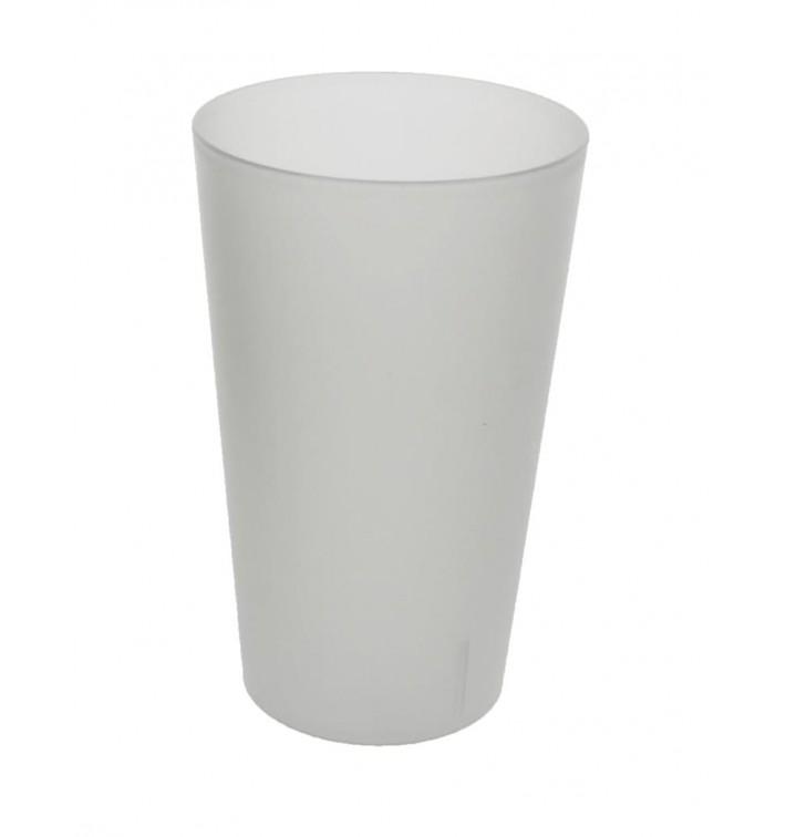 Copo Reutilizável Plastico PP Translúcido 330ml (16 Uds)