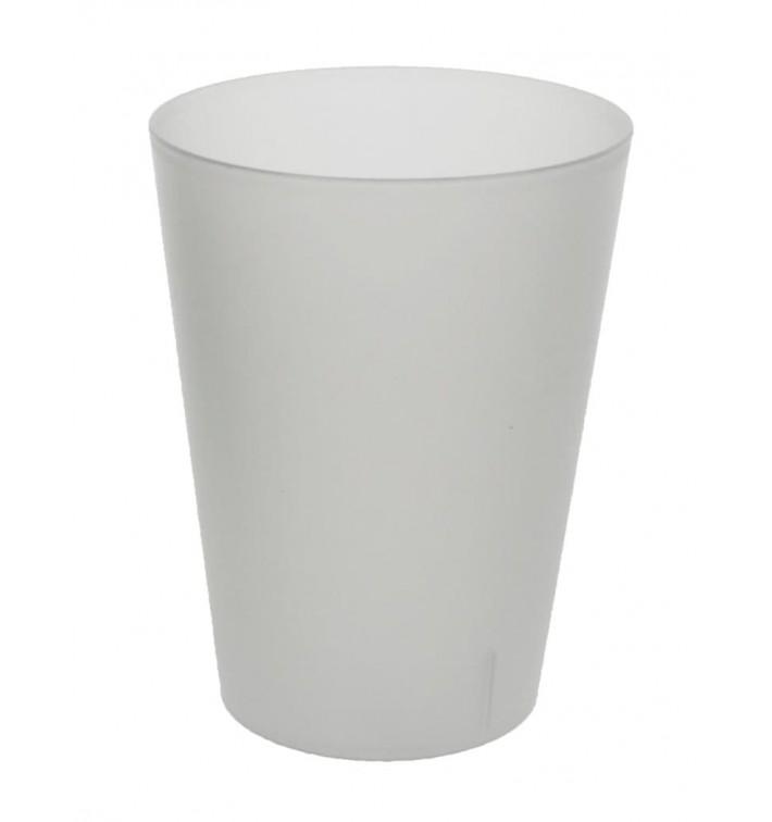 Copo Sidra Reutilizável PP Translúcido 500ml (16 Uds)