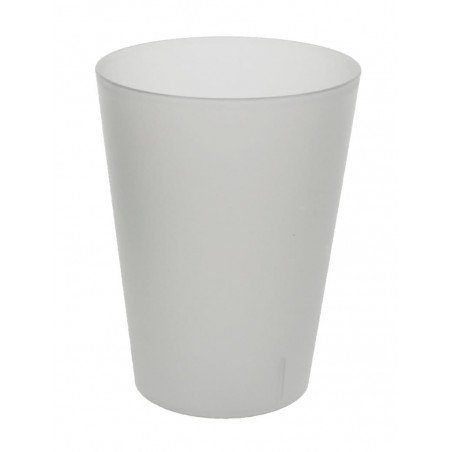 Copo Reutilizável Ecológico Sidra 500ml PP (24 Uds)