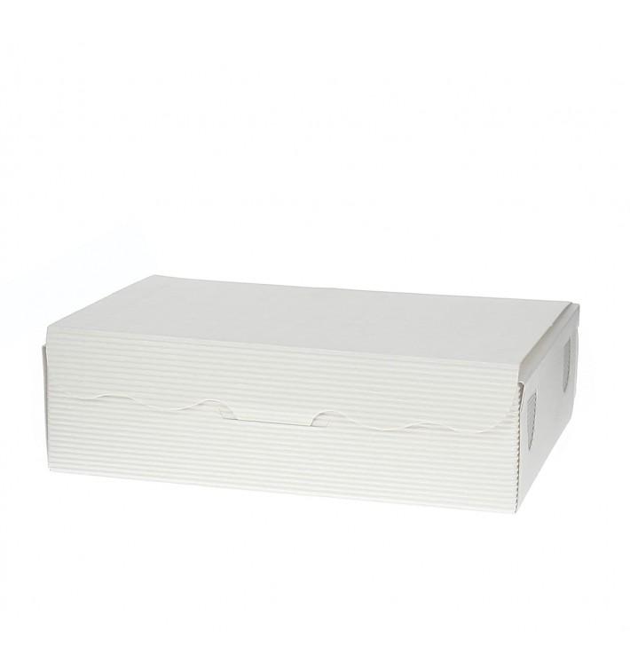 Caixa Bombons e Doces Branca 20x13x5,5cm 1000g (100 Uds)