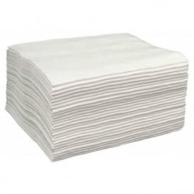 Toalha Spunlace Cabaleireiros Branco 40x80cm (25 Uds)