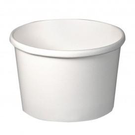 Taça de Cartão Branco 8Oz/237ml Ø9,1cm (25 Uds)