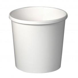 Taça de Cartão Branco 12Oz/355ml 9,1cm (25 Uds)