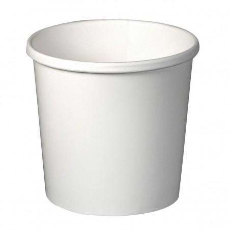Terrina de Cartão de Sopa 12 Oz Branco (25 Unidades)