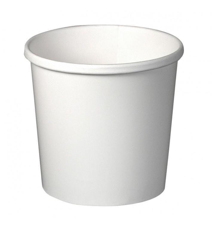 Taça de Cartão Branco 12Oz/355ml 9,1cm (500 Uds)