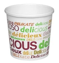 Terrina de Cartão Delicious de Sopa 12 Oz (500 Unidades)