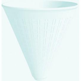 Cone Isopor para Batatas Fritas Branco 355 ml (25 Unidades)