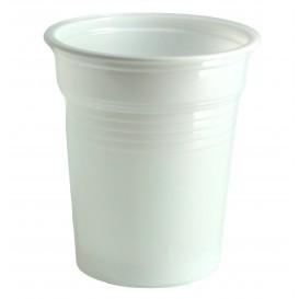 Copo de Plastico PS Branco 100ml Ø5,7cm (100 Unidades)
