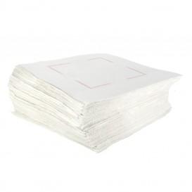 Toalhas de Papel Sulfito Branco 25x25cm (750 Uds)