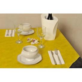 Toalha em Rolo Não Tecido Amarelo 1,2x50m 50g (6 Uds)