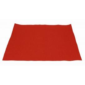 Toalhete Papel Mesa 30x40cm Vermelho 40g (1.000 Uds)