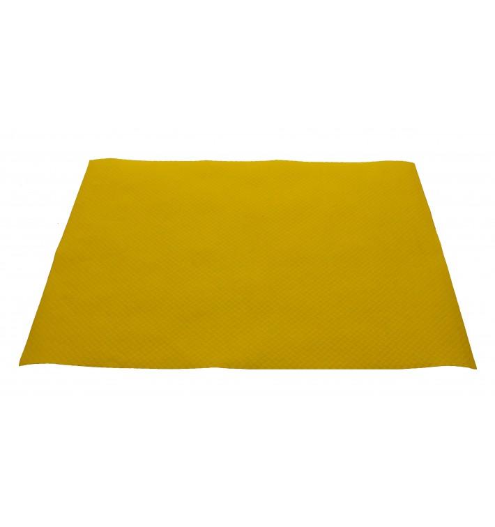 Toalhete Papel Mesa 30x40cm Amarelo 40g (1.000 Uds)
