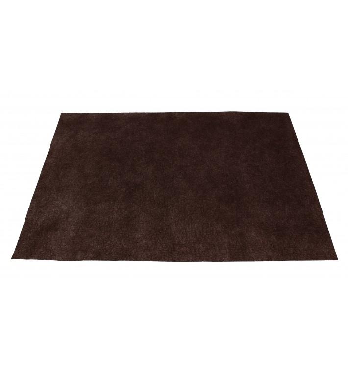 Toalhete Não Tecido Marrom 30x40cm 50g (500 Uds)