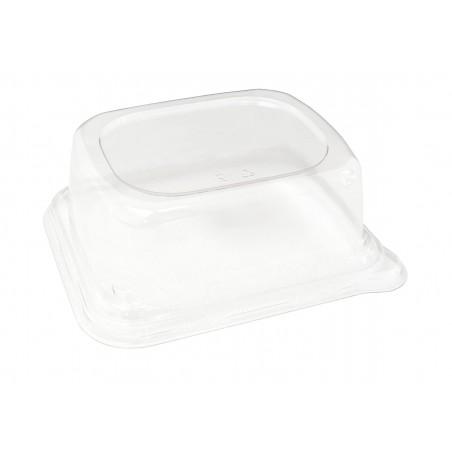 Tampa PET para Embalagem Cana-de-açúcar 14x14cm (50 Uds)
