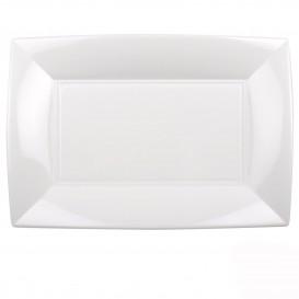 Bandeja de Plastico Branco Nice PP 345x230mm (6 Uds)