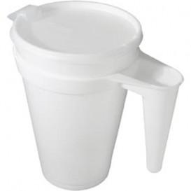 Jarro Descartáveis Termico Foam EPS 44Oz/1300 ml Ø11,7cm (300 Uds)