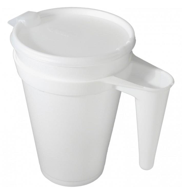Jarro Descartáveis Termico Foam EPS 44Oz/1300 ml Ø11,7cm (20 Uds)