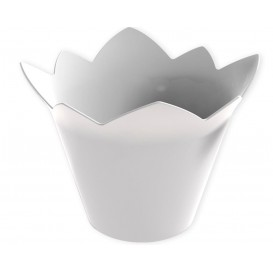 Tigela Degustação Waterlily Branco 70 ml (25 Unidades)