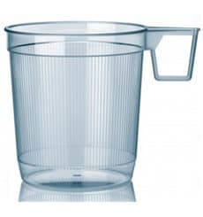 Chavena Plastico Infusões 250ml Transparente (1.000 Uds)