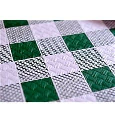 "Toalha Papel Cortado Mesa 1x1m ""Quadro Verdes"" 37g (400 Uds)"