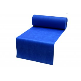 Toalha em Rolo Não Tecido Pré cortado Azul Royal 0,4x48m 50g (1 Ud)