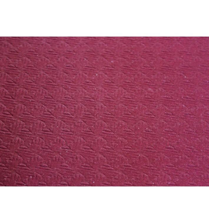 Toalha Papel Cortado Mesa Bordeaux 100x100m 40g(400Uds)