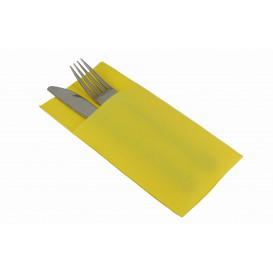 Guardanapos Kanguro Papel 40x40cm Amarelo (30 Uds)