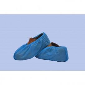 Cobre Sapatos em Polipropileno Azul (100 Uds)