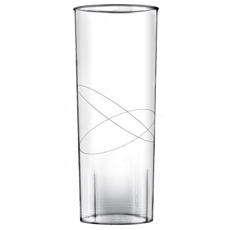Copo Plastico Cristal Transparente PP 300ml (10 Uds)