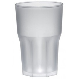 Copo Plastico Transparente PP Ø85mm 400ml (5 Uds)