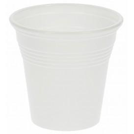 Copo de Plástico PS Branco 80 ml (50 Unidades)