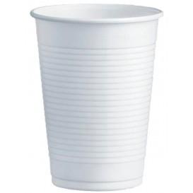 Copo de Plastico PS Branco 230ml Ø7,0cm (100 Unidades)