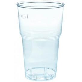 Copo Plastico PS Cristal Transparente 490ml Ø9,0cm (40 Uds)