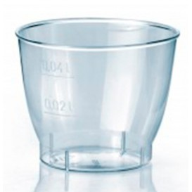 Copo Plastico Cristal Cool Cup PS 40ml (50 Uds)