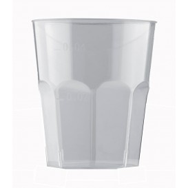 Copo Plastico para Shot Transp. PS Ø45mm 50ml (500 Uds)